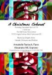Christmas Cabaret Poster